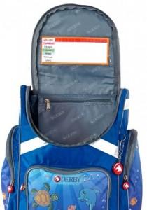 фото Детский рюкзак DERBY с ортопедической спинкой русалочка #3