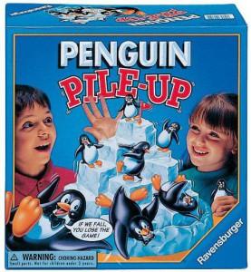 Настольная игра 'Пингвины на льдине'
