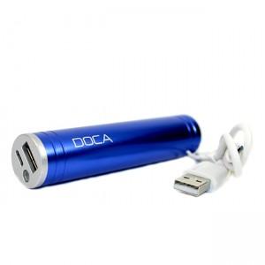 Мобильная батарея DOCA D536B 2600mah blue