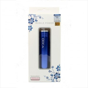 фото Мобильная батарея DOCA D536B 2600mah blue #3