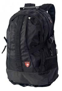 Рюкзак DERBY молодежный 17.5L черный