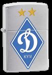Зажигалка Zippo 'Dinamo Kiev Satin Chrome'
