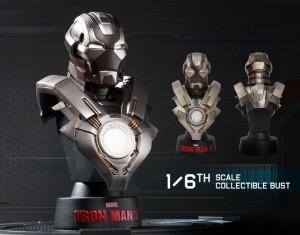 фото Коллекционный набор Железный человек 3 'Серия коллекционных бюстов' #3