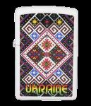 Зажигалка Zippo 'Ukraine Pattern' red