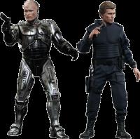 фигурка Коллекционный набор Робокоп 'Робокоп (Версия 'Поврежденный в битве') и Алекс Мерфи'