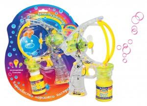 Набор для пускания мыльных пузырей 'Авто-Пузырятор'