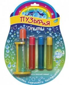 Набор для пускания мыльных пузырей 'Опыты'