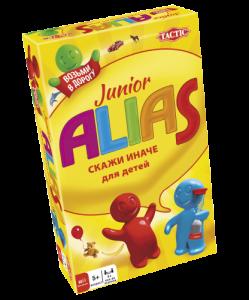 Настольная игра 'Alias Junior. Дорожная версия' (рус.)