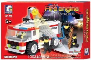 Конструктор 'Пожарная машина'