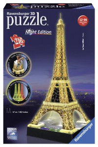 фото игрушки Пазл-ночник 'Ночная Эйфелева башня' #3
