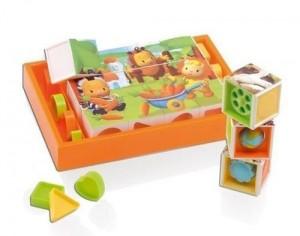 Развивающая игрушка 'Волшебные кубики'