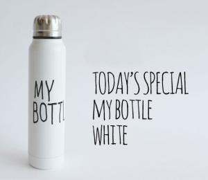 Подарок Термос 'My Bottle' (в тубусе)