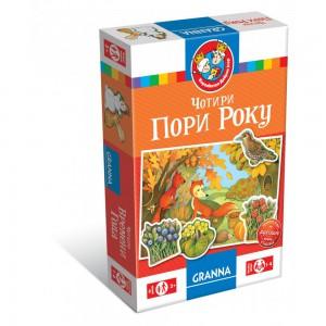 Настольная игра Granna 'Чотири пори року' (укр) (82036)