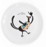 Подарок Тарелка 'Голодный фазан'