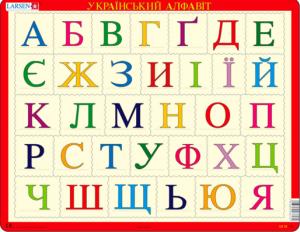 Пазл 'Азбука (украинская)'