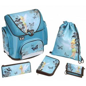 Подарок Школьный набор Scooli 'Фея Динь-Динь' 5 предметов голубой