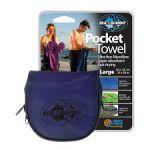 фото Полотенце Sea to Summit Pocket Towel cobalt S (40 x 80 см) (STS APOCTSC) #2