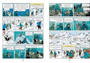 фото страниц Приключения Тинтина. Тинтин в Тибете #4