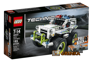 Конструктор LEGO Technic 'Полицейский патруль'