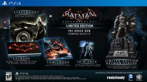 скриншот Batman: Arkham Knight. Memorial Edition PS4 - Batman: Рыцарь Аркхема - Русская версия #2