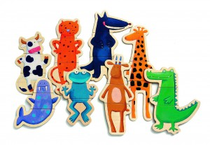 фото Магнитная игра 'Сумасшедшие животные' #3