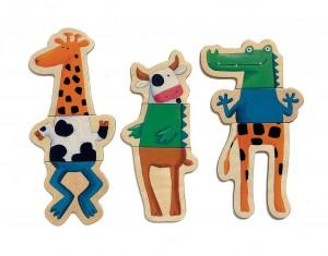 фото Магнитная игра 'Сумасшедшие животные' #4