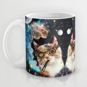 Подарок Оригинальная чашка 'High Cat'