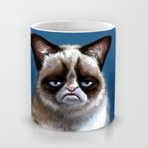 Подарок Оригинальная чашка 'Grumpy Cat'