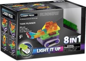 Конструктор Laser Pegs 'Танк 8 в 1'