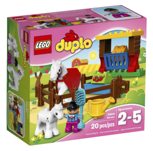 527055a550b Конструктор LEGO Duplo Town 'Лошадки' LEGO Duplo 10806 купить ...