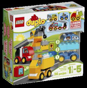 Конструктор LEGO Duplo My First 'Мои первые машинки'