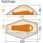 фото Палатка Wechsel Pathfinder 1 Zero-G Line песочная #5