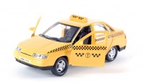 Автомодель Autotime 'LADA 2110 такси' 1:43
