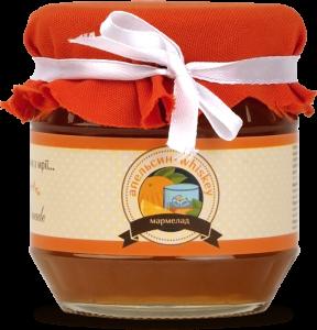 Подарок Апельсиновый мармелад с виски