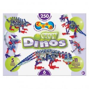 Конструктор ZOOB Glow Dino
