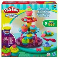 Игровой набор Play-Doh 'Башня из кексов'