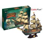 Трехмерная головоломка-конструктор CubicFun 'Испанская армада. Сан Фелиппе'