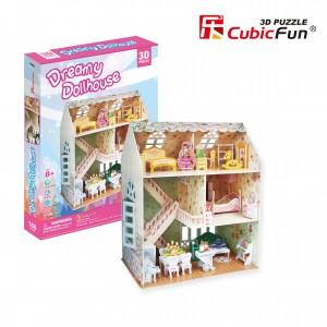 Трехмерная головоломка-конструктор CubicFun  'Дом мечты'