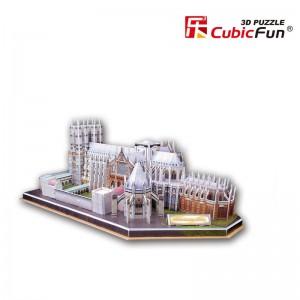 Трехмерная головоломка-конструктор CubicFun 'Вестминстерское Абатство'
