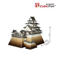 Трехмерная головоломка-конструктор CubicFun 'Замок Хиедзи'