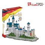 Трехмерная головоломка-конструктор CubicFun 'Замок Нойшванштайн'