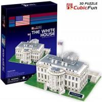 Трехмерная головоломка-конструктор CubicFun 'Белый дом'