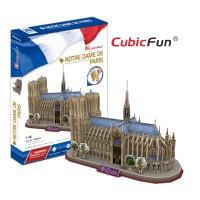 Трехмерная головоломка-конструктор CubicFun 'Собор Парижской Богоматери'
