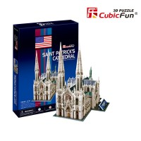 Трехмерная головоломка-конструктор CubicFun 'Собор святого Патрика'