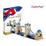 Трехмерная головоломка-конструктор CubicFun 'Тауэрский мост'