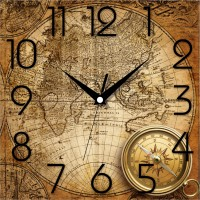 Подарок Настенные часы ЮТА 'Панорама' (OF - 005)
