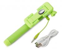 Подарок Монопод для селфи UFT SS16 light green со вспышкой