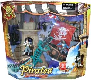 Набор 'Пираты 3. Пиратская лодка с маяком'