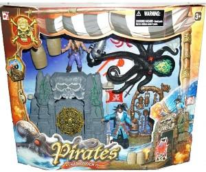 Набор 'Пираты 3. Пиратский храм черепа'