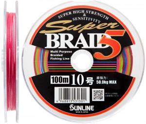 Шнур Sunline Super Braid 5 100m (12 connected) #6 33кг